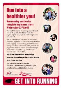 Run into a healthier you